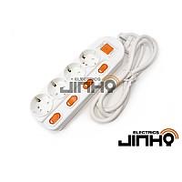 멀티탭 개별 4구 1.5M (개별접지 16A)